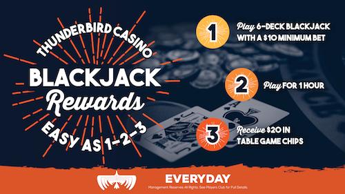 Blackjack Rewards